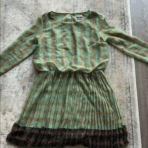 Tribal pattern Anthropologie Dress. Small (4/6)